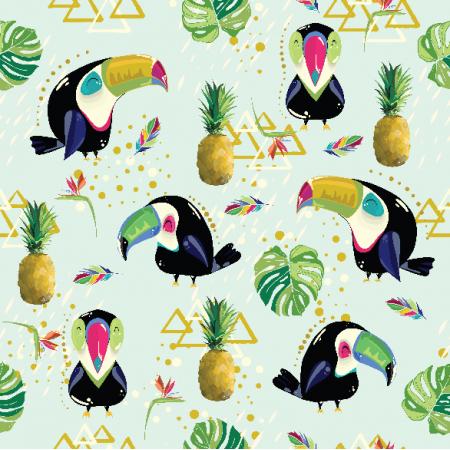 Fabric 11388 | letnie tukany