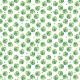 Fabric 11395   monstera na bieli