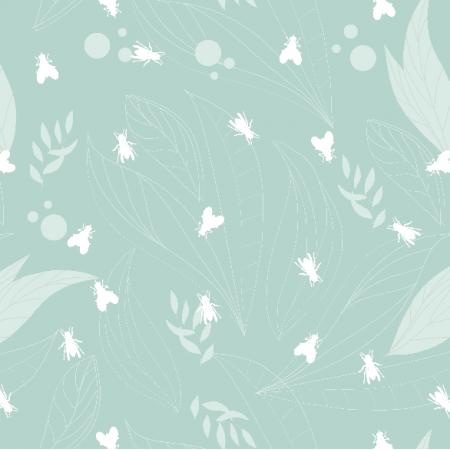 Fabric 11437 | muchy na mięcie