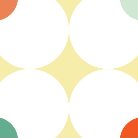 Tkanina 11523 | Panel poduszka/ pillow (seria: Mellow RETRO) 48cm