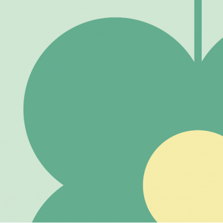 Fabric 11541 | Kwiaty  (seria: Mellow RETRO)