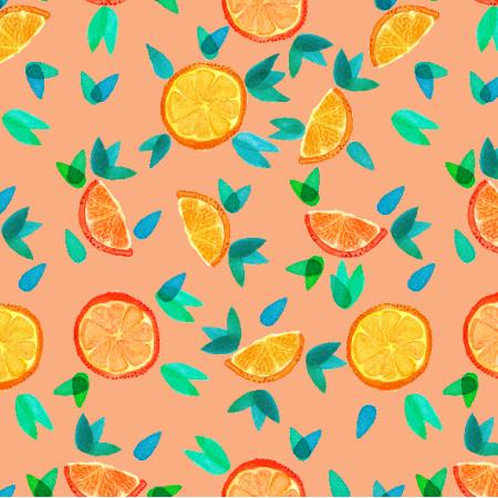 Fabric 11555 | Oranges