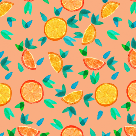 Fabric 11555 | Oranges