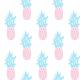 Fabric 11565   ANANAS na bialym