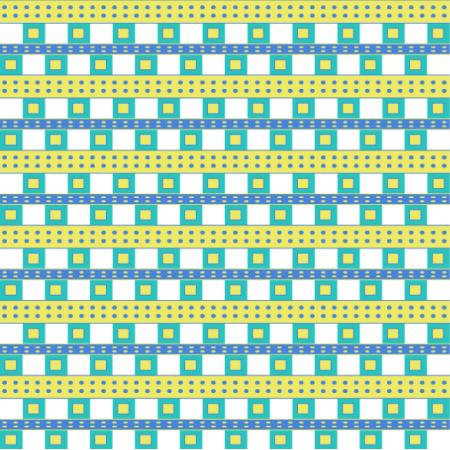 Fabric 11572 | Kwadraty Kolorowe