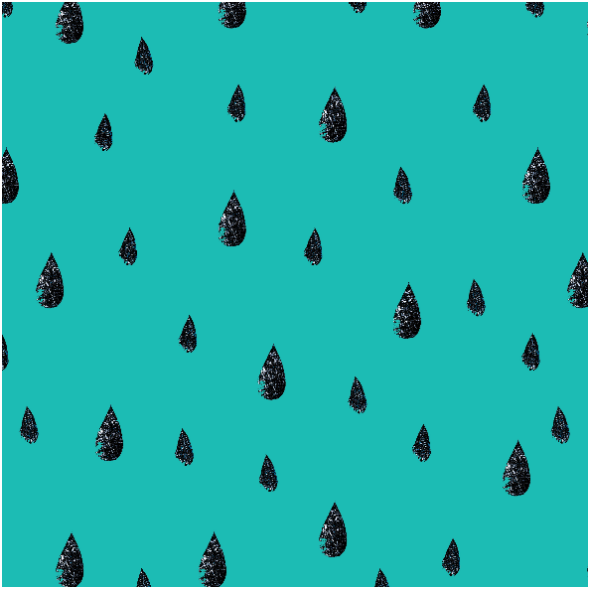 Fabric 11630 | deszcz
