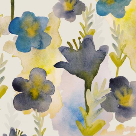 11655 | kwiaty akwarelowe