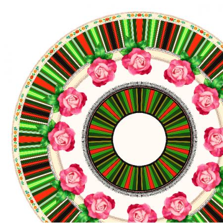 Fabric 11724 | Łowickie koło