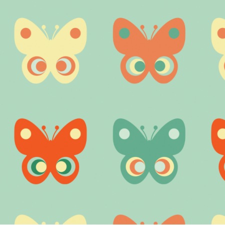 11755 | Motyle  (seria: Mellow RETRO)