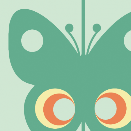 11757 | Motyle  (seria: Mellow RETRO)