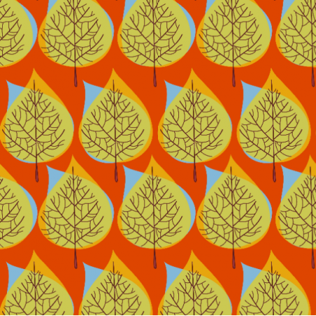 Fabric 11798 | Drzewa jesienne