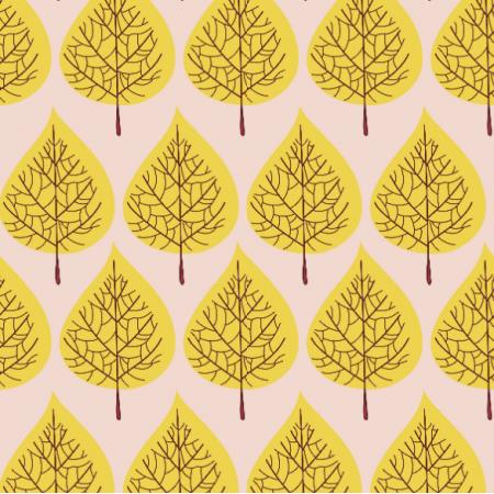 Fabric 11799 | Drzewa jesienne PASTEL