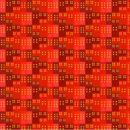 Tkanina 11803 | DOMY CZERWONE