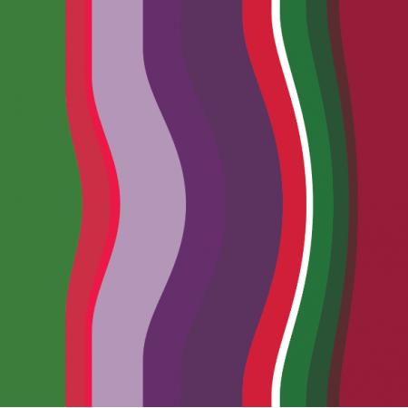 Fabric 11811 | Folk Paski - Krzywe