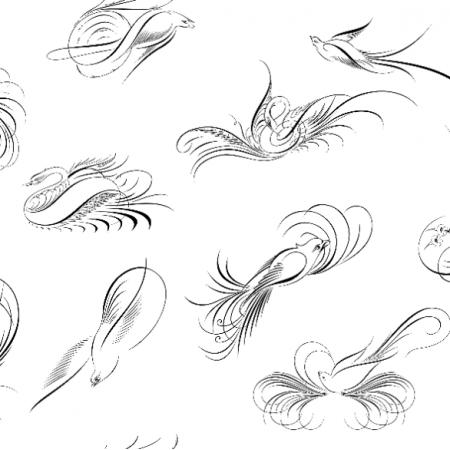 Fabric 11816 | 006 - Birds0