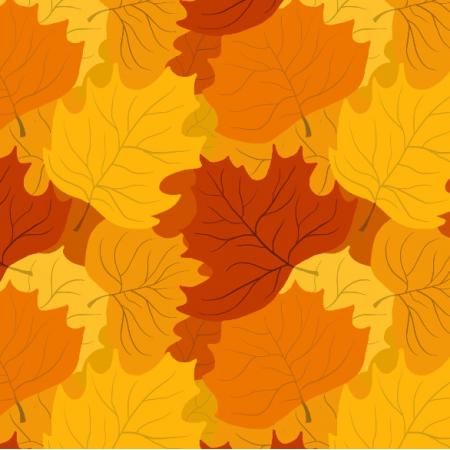 Fabric 11823 | Liście klonu (jesień_4)