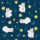 Fabric 11826 | biała wiewiórka