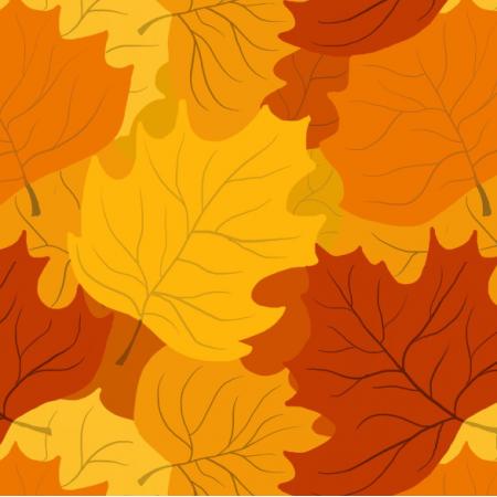 Fabric 11887 | Liście klonu (jesień_5)
