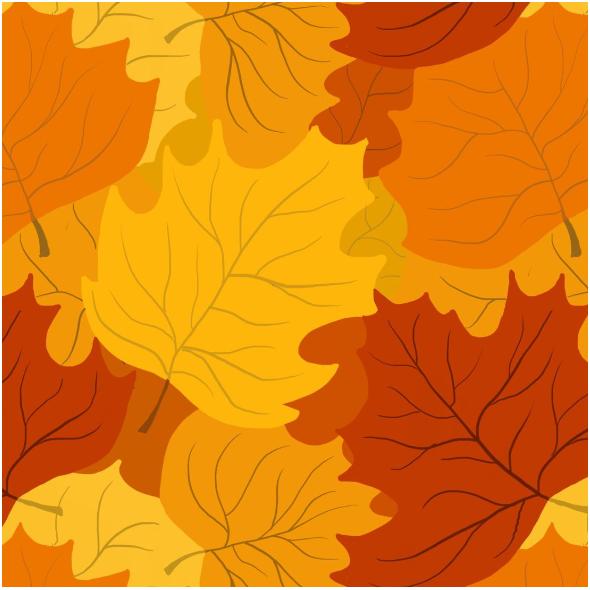 Tkanina 11887 | Liście klonu (jesień_5)