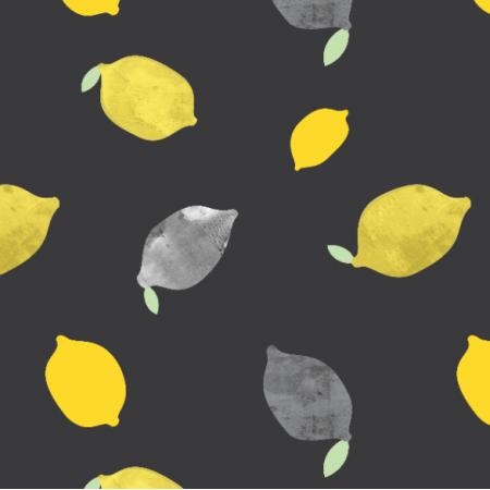 Fabric 11919 | CYTRYNY CIEMNE