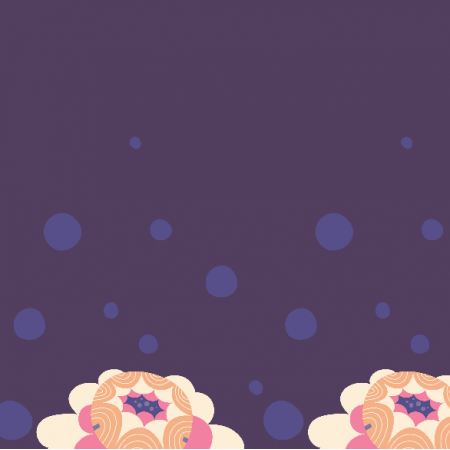Fabric 1369 | Unicorn Land Peonies