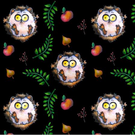 Tkanina 11939 | Hedgehog