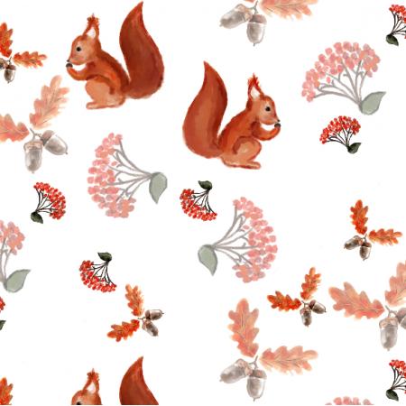 Fabric 11970   Jesień w lesie