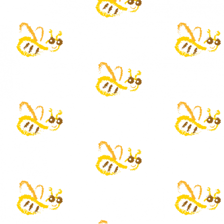 11973 | Funny Bee pattern for kids