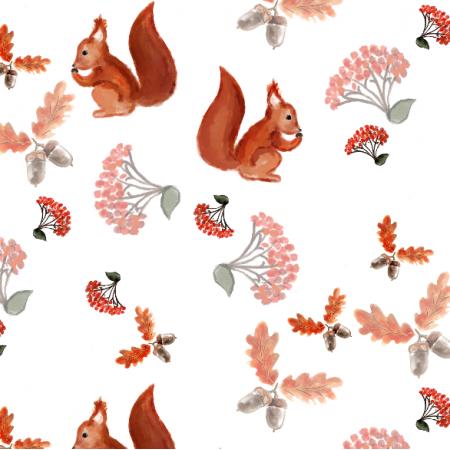 Fabric 11977   Jesień w lesie