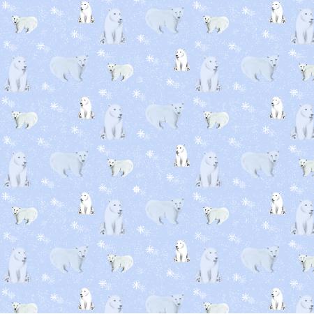 Fabric 12008   Polar bear