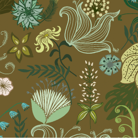 Fabric 12033 |floral fantasy