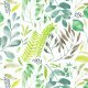 Fabric 12037 |Watercolour foliage