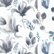 Fabric 12040 | Dark watercolour floral