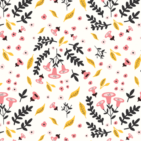 Fabric 12085 | Autumn Flowers2