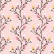 Tkanina 12091 | Autumn Flowers8