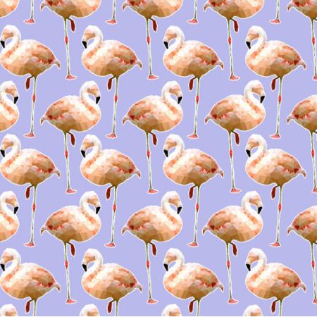 Fabric 12107   Flamingo Sky
