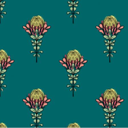 12113 | Protea zieleń