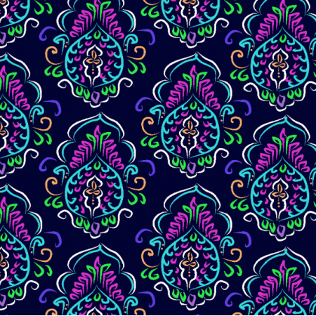Fabric 12150 | indian night