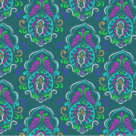 Fabric 12157 | Indian Emerald