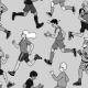 Fabric 12196   biegacze