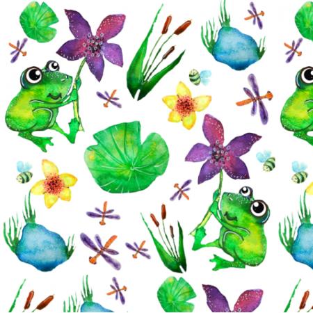 Tkanina 12206 | froggie