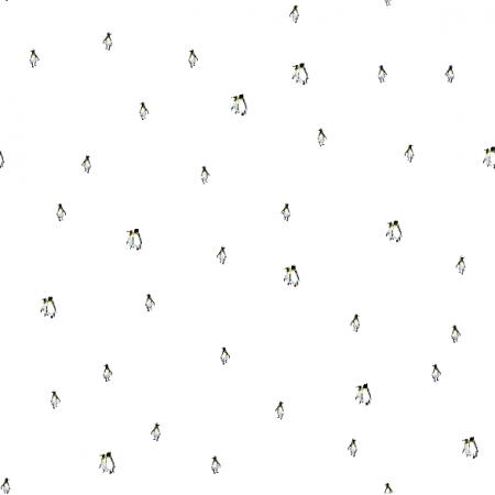 Tkanina 12210 | Pingwinki