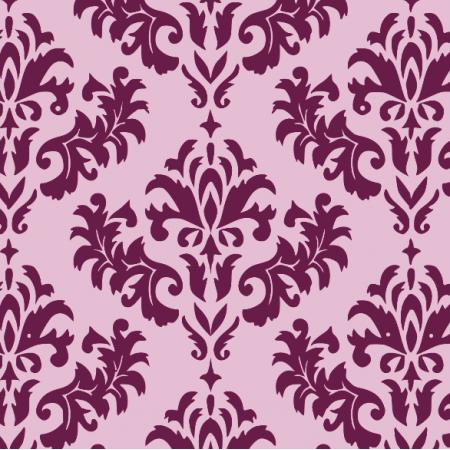 Fabric 12228 | ornament  Liliowy