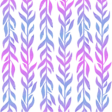 Tkanina 12233 | Pastelowe listki pionowe