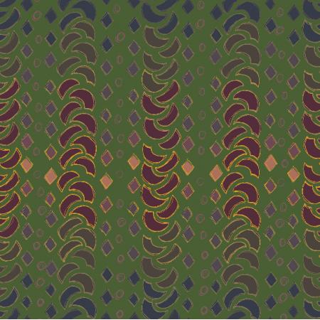 Fabric 12246 | ZIELONY WARKOCZ