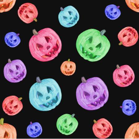 12267 | Neon Halloween Pumpkins