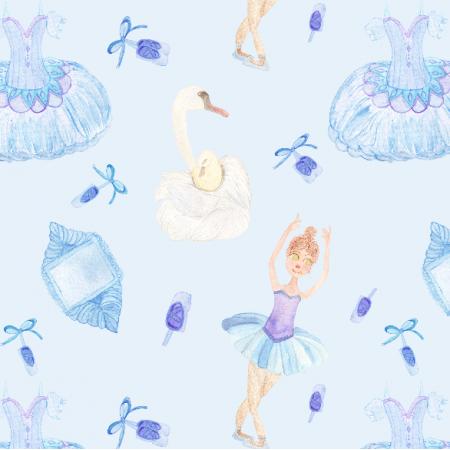 12296 | Little Ballerina in Blue
