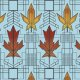 Fabric 1405 | Stained Glass Leaves