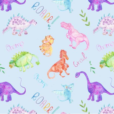 Fabric 12303 | ROARR LIKE A DINOSAUR