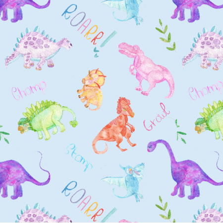 Fabric 12303 | ROARR LIKE A DINOSAUR